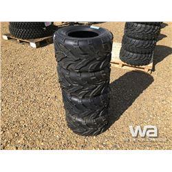(UNUSED) (4) WANDA 20X10.00-10 ATV TIRES