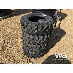 (UNUSED) (4) WANDA 24X8.00-12 ATV TIRES