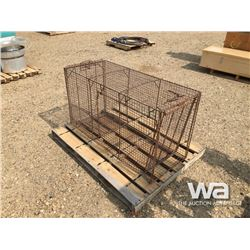 STEEL RODENT TRAP