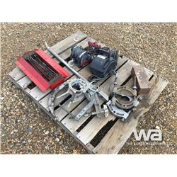 BEARING PULLERS, (3) WINCHES, SNIPE