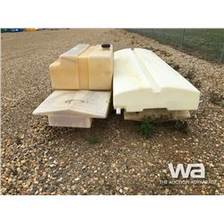 (4) POLY BOAT FUEL TANKS