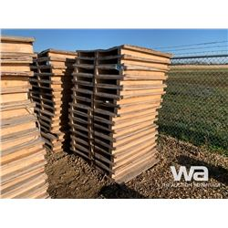 (15) WOODEN PALLETS