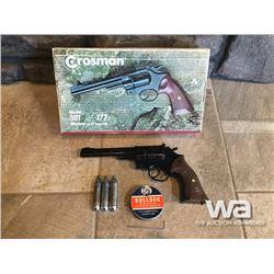 CROSSMAN 38T .177 CAL. REVOLVER PELLET GUN