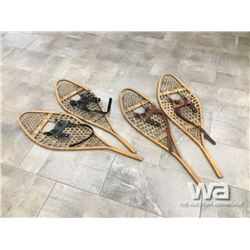 (2) SETS OF SNOW SHOES