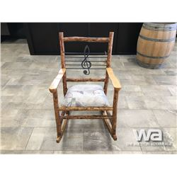 """ROCK ON"" ROCKING CHAIR"