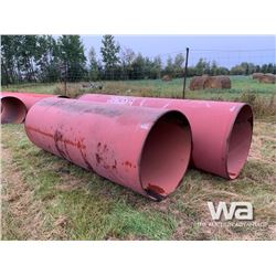 """(2) 42"""" LARGE RED PIPE"""