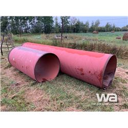"""(2) 36"""" LARGE RED PIPE"""