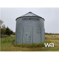 CHIEF WESTLAND 5 RING X 19 FT. GRAIN BIN