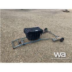 SNOWMOBILE DOLLY & POLARIS ATV BOX