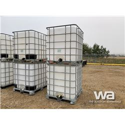 (2) 1,000 LITRE POLY TOTES