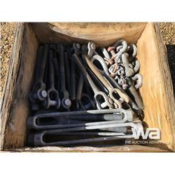 BOX OF LARGE TURN BUCKLES