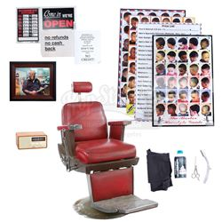 Marvel's Luke Cage (TV Series) - Pop's Barber Shop Chair and Accessories Set
