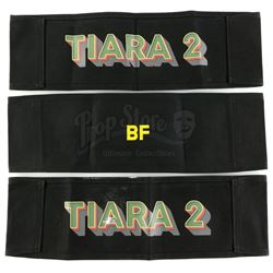 Marvel's Luke Cage (TV Series) - Bobby Fish's 'BF' Chairback and Two Additional Cast Chairbacks