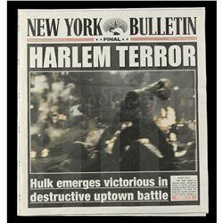 Marvel's Daredevil (TV Series) - New York Bulletin 'Harlem Terror' Newspaper Cover