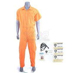 Marvel's Luke Cage (TV Series) - Luke Cage's Seagate Prison Flashback Jumpsuit Costume and Accessori