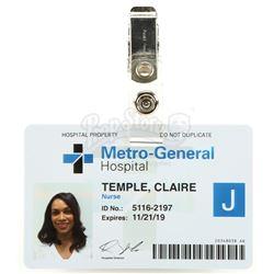 Marvel's Jessica Jones (TV Series) - Claire Temple's Clip-On Hospital Badge