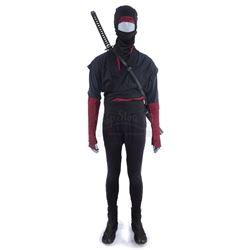 Marvel's Daredevil (TV Series) - Stunt 'The Hand' Ninja Costume and Wooden Katana