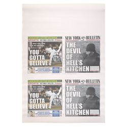 Marvel's Daredevil (TV Series) - Uncut 'The Devil of Hell's Kitchen' Newspaper Cover Sheet
