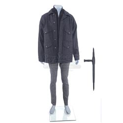 Marvel's The Defenders (TV Series) - Murakami's Warehouse Fight Costume Components and Stunt Tonfa