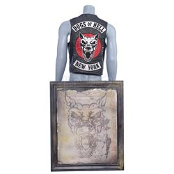 Marvel's Daredevil (TV Series) - Dogs of Hell Vest and Weathered Art Piece