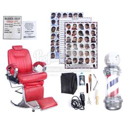 Marvel's Luke Cage (TV Series) - Pop's Barber Shop Chair and Accessories