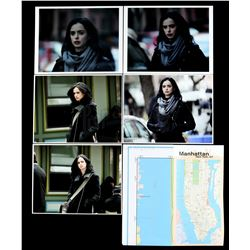 Marvel's Jessica Jones (TV Series) - Malcolm Ducasse's Photos of Jessica Jones and Tracking Map