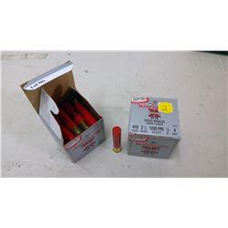 2 BOXES OF 410 SHOTGUN SHELLS