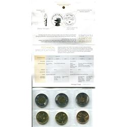 2011 AND 2012 CIRCULATION COIN AND TEST TOKEN SET