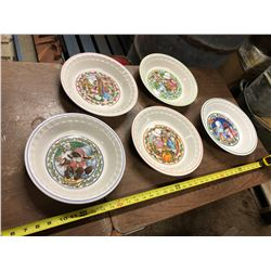COUNTRY KIDS COLLECTOR'S RECIPE PLATES