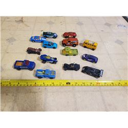 DIECAST MIX 14 PCS. 74 TO JOE, VW WAGON, 69 PADDY WAGON & OTHERS