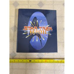 1997 STAR TREK UNIVERSE ORIGINAL SERIES COLLECTORS BINDER COMPLETE