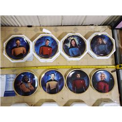 HAMILTON STAR TREK NEXT GENERATION COLLECTOR PLATES
