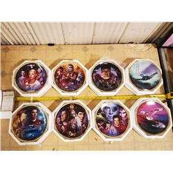 HAMILTON STAR TREK MOVIES COLLECTOR PLATES