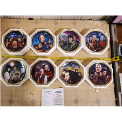 HAMILTON STAR TREK NEXT GENERATION EPISODES COLLECTOR PLATES