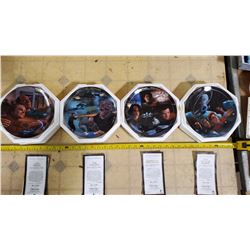 HAMILTON STAR TREK VOYAGER COLLECTOR PLATES