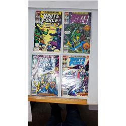 1990 MARVEL BRUTE FORCE MINISERIES COMPLETE 1-4