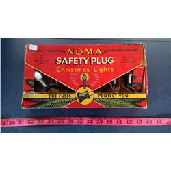 NOMA SAFETY PLUG CHRISTMAS LIGHTS IN BOX