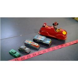 MICKEY MOUSE FIRETRUCK AND MISC. CARS