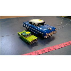 BLUE ELECTRIC CORONA AND FORD FAIRLANE 500 MODELS