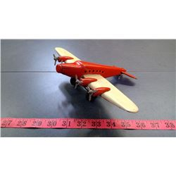 RED AND WHITE PLANE - MADE IN US ZONE GERMANY