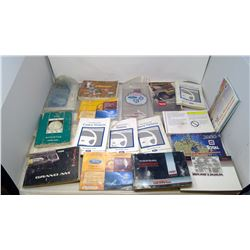 BOX OF CAR BOOKS AND MANUALS