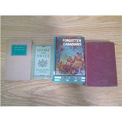 4 VINTAGE STORY BOOKS