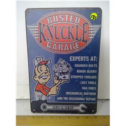 8X12 NEW REPRODUCTION TIN SIGN