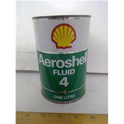 FULL SHELL OIL LITEN CAN TIN
