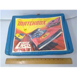 MATCHBOX CASE WITH ASSORTED CARS
