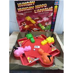 HUNGRY HIPPO GAME IN ORIGINAL BOX BY HASBRO