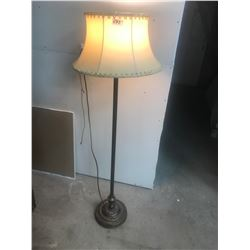 TRI-LITE FLOOR LAMP AND SHADE - WORKS