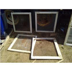 """4X WINDOW SCREENS (28"""" X 28"""")"""