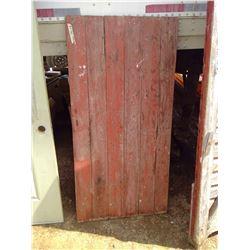 """BARN DOOR (63"""" X 31"""")"""