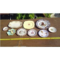 ASSORTMENT OF OLD PLATES